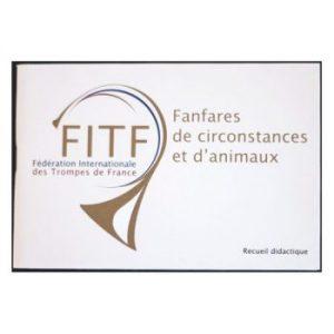 mini recueil de fanfares FITF trompe