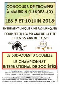 Championnat International  Sociétés- Maurrin (40) @ Maurrin   Nouvelle-Aquitaine   France