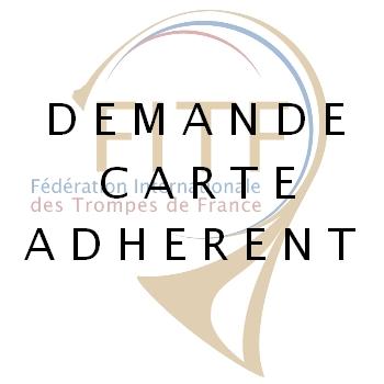 demande carte adhérent FITF